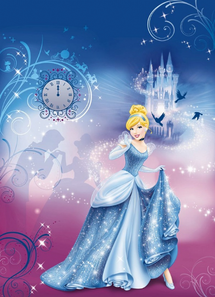 Cinderella´s Night Disney wall mural paper